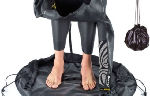 Wetsuits: Changing Mats