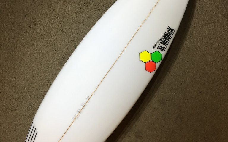Channel Islands A6: 5′10″ Thruster by Al Merrick