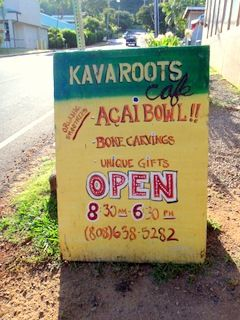 Kava Roots: The Best Acai Bowls, North Shore Oahu