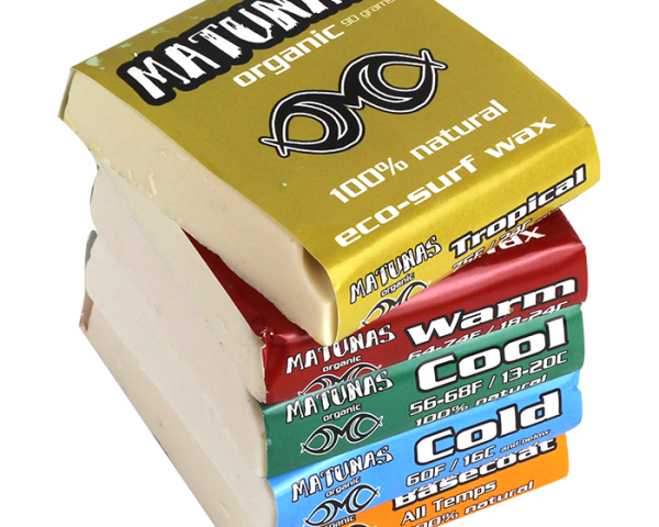 Matunas Organic Surf Wax: 100% Natural