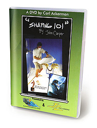 "Shaping Surfboards: John Carper's ""Shaping 101"" DVD"