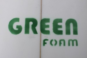 Green Foam Surfboard Blanks