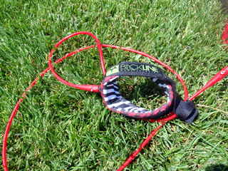 "Blackline 6-foot Comp Leash: ""The Rover"""